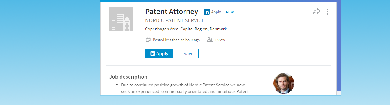 New job position at NPS Patent Attorney – Patent Attorney Job Description